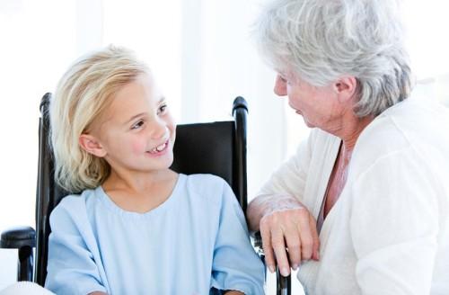 Дети у врача