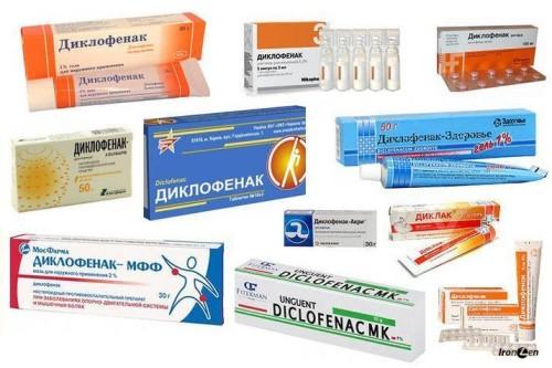 Противоспалительные гели